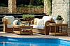 Садовая плетеная мебель