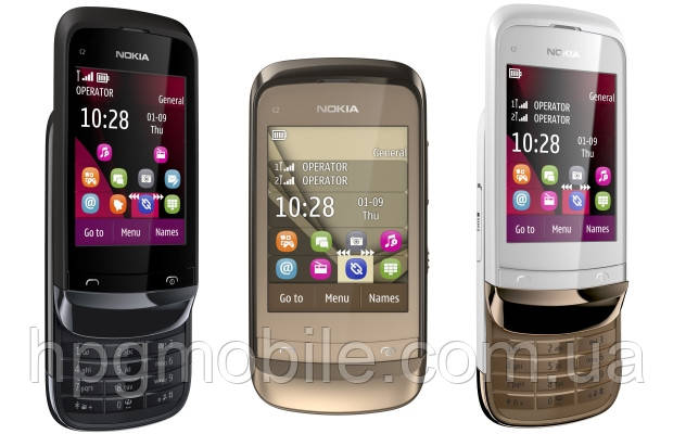 Корпус для Nokia C2-03 - оригинальный