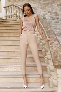 Модные брюки с поясом