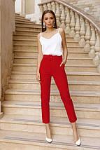 Модные брюки с поясом, фото 3