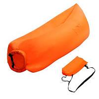 Надувний матрац-гамак Ламзак Original 2,2 м Orange, фото 1