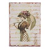 """Книга-сейф """"Девушка с зонтом"""" (22*16*7 см) тайник с ключом, фото 2"""