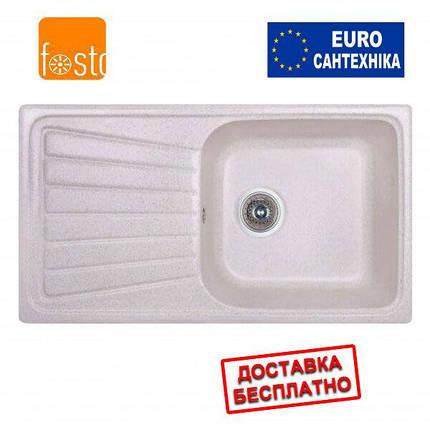 Кухонная гранитная мойка FOSTO 81x46 SGA-800, фото 2