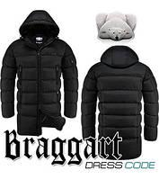 Куртка длинная зимняя мужская Braggart