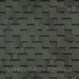 Черепица Финская Шинглас Аккорд (Shinglas Accord) зеленая