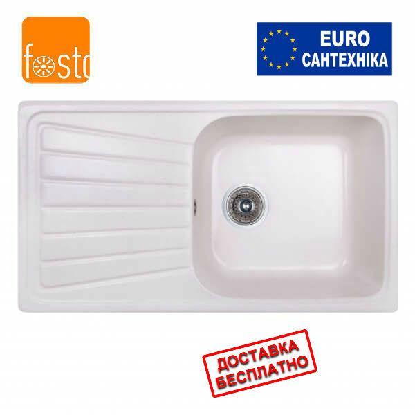 Кухонная гранитная мойка FOSTO 81x46 SGA-203