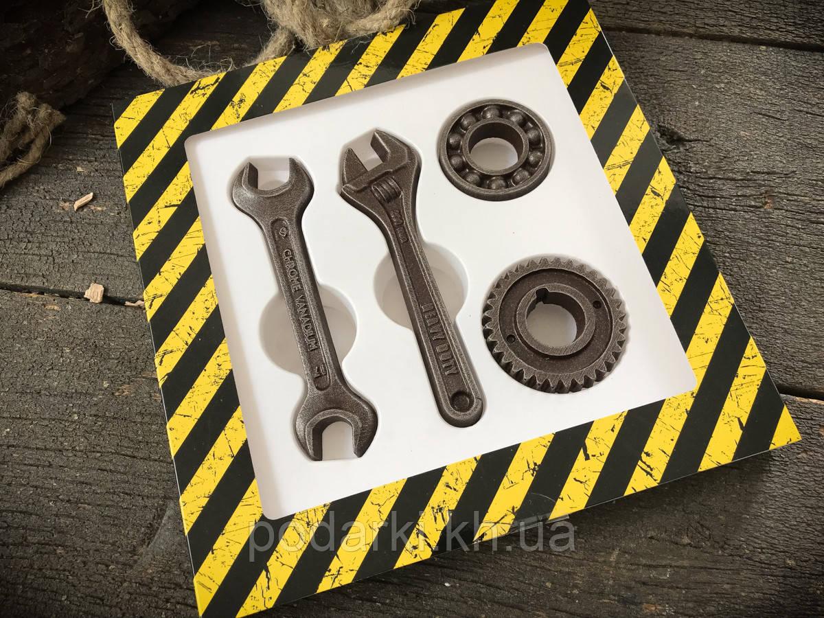 Шоколадный набор Ключи с подшипником мужу