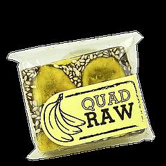 """Батончик энергетический """"QuadRAW"""" банановый 50 г"""