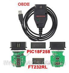 Адаптер диагностический VAG K+CAN Commander 1.4 FULL на чипе PIC18F258 с FTDI FT232RL