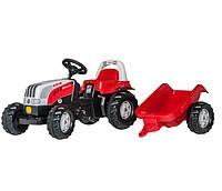 Трактор Kid Valtra с прицепом Rolly Toys 12510