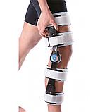 Шарнірний бандаж (ортез) на коліно з обмеженням згинання Wellcare 52001, фото 2
