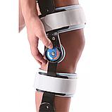 Шарнірний бандаж (ортез) на коліно з обмеженням згинання Wellcare 52001, фото 3