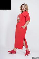 Платье женское,длинное,больших размеров, фото 3