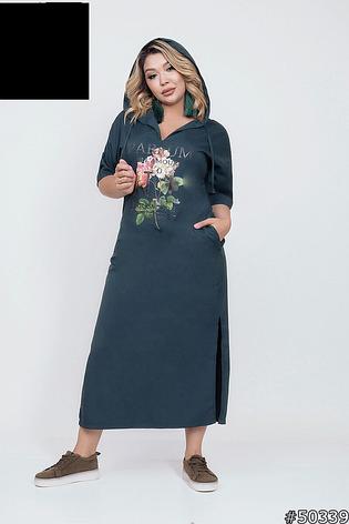 Платье женское,длинное,больших размеров, фото 2