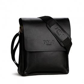 Мужская сумка через плечо Polo Videng Black