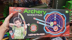 ЛУК M 6040 55СМ стрелы на присосках, фото 2