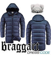 Куртка длинная мужская зимняя Braggart
