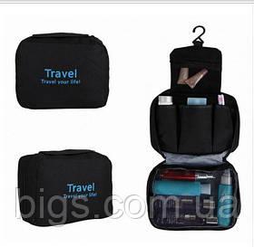 Органайзер подвесной для белья и косметики Travel ( органайзер для путешествий ) Черный