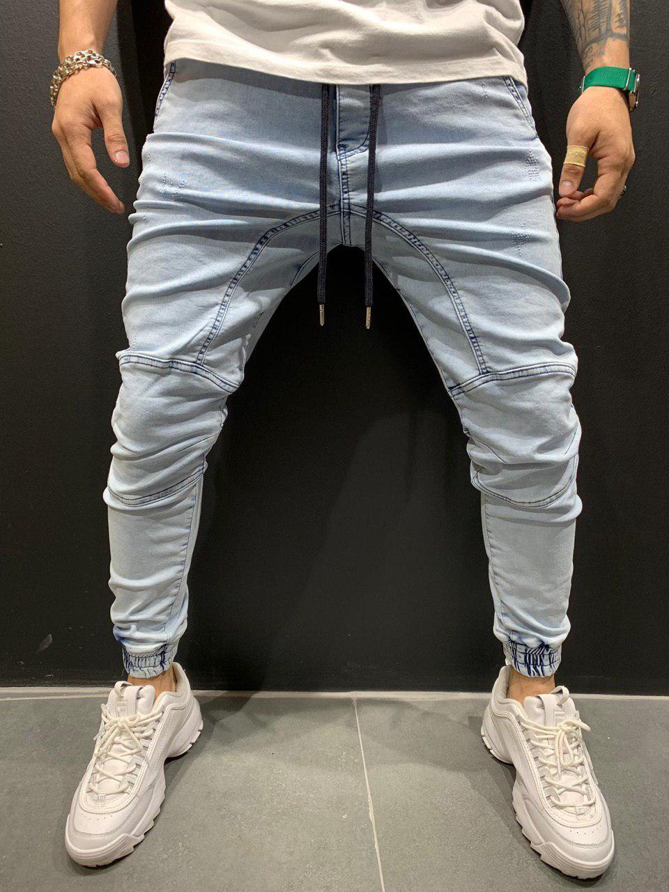 при этом фото мужских джинс на манжетах что