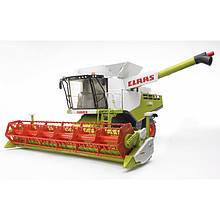 Іграшка Bruder Комбайн зернозбиральний Claas Lexion 780 Terra Trac з гусеничним приводом 1:16(02119)