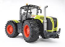 Іграшка Bruder Трактор Claas Xerion 5000 повертається з кабіною 1:16 (03015)