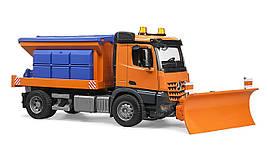 Іграшка Bruder снігоприбиральна машина Mercedes Arocs (03685)