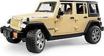 Игрушка Bruder Внедорожник Jeep Wrangler Unlimited Rubicon 1:16  (02525)