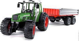 Игрушка Bruder Трактор Fendt 209 S с прицепом  1:16 (02104)