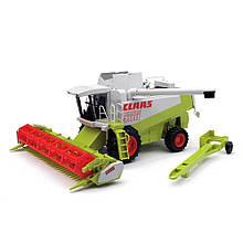 Іграшка Bruder Комбайн зернозбиральний Claas Lexion 480 1:20 (02120)