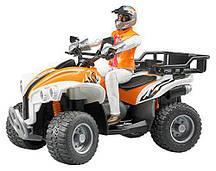 Игрушка Bruder Квадроцикл с фигуркой водителя (63000)