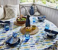 Яскравий літній столовий текстиль
