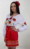 """Блуза вышитая женская """"Тамара"""" 0-59, фото 1"""