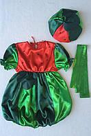 Детский карнавальный костюм Bonita Арбуз №2 (девочка) 95 - 110 см Зеленый, фото 1