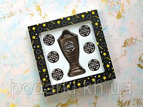 Шоколадный набор Кубок с номинациями для лучшего папы