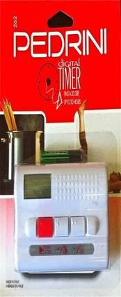Таймер бытовой электронный Pedrini (Италия), Таймер кухонный, Кулинарный бытовой таймер, фото 2