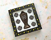 Шоколадный набор Кубок с номинациями для лучшего мужа