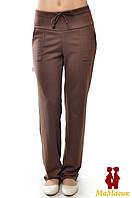 Штаны для беременной трикотажные, коричневый