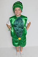 Детский карнавальный костюм Bonita Огурец №1 105 - 120  см Зеленый