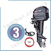 Лодочный мотор Parsun Т30 FWS  (30 л.с. короткий дейдвуд, стартер, д/у, винт 12``), фото 1