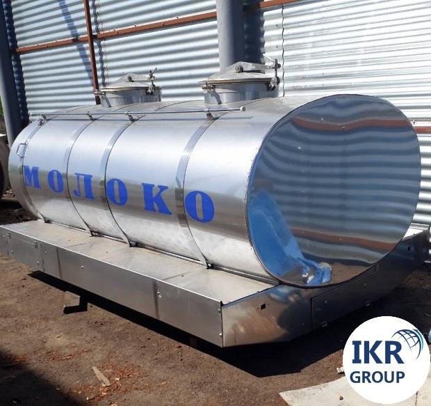 Цистерна для молока на 1500 л