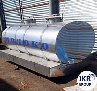Цистерна для молока на 1500 л, фото 1