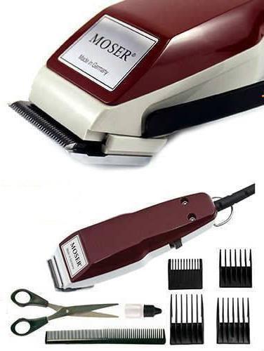Машинка для стрижки волос Moser 1400 красная