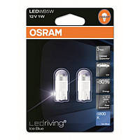 Лампа Osram 2850BL-02B 12V1W  LED