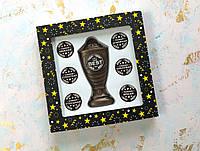 Шоколадный набор Кубок с номинациями женщине The Best