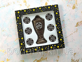Шоколадный набор Кубок с номинациями девушке The Best