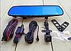 Зеркало видеорегистратор Full HD +камера заднего вида,регистратор, 2 камеры , фото 9