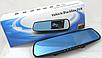 Зеркало видеорегистратор Full HD +камера заднего вида,регистратор, 2 камеры , фото 8