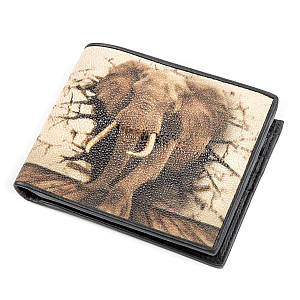 Кошелек STINGRAY LEATHER 18127 из натуральной кожи морского ската