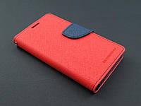 Чехол книжка Goospery для Lenovo K3 A6000 A6010 A6010 pro красный