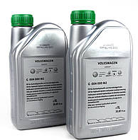 Жидкость в гидроусилитель зеленая (синтетика) 1 л — VAG (Германия) — G004000M2